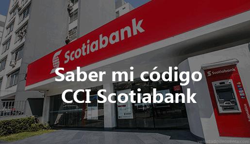 Consultar CCI de Scotiabank