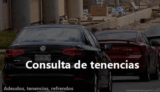 Consulta Tenencias en México