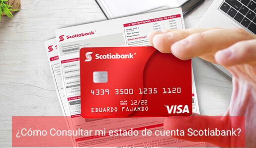 ¿Cómo consultar mi estado de cuenta Scotiabank?