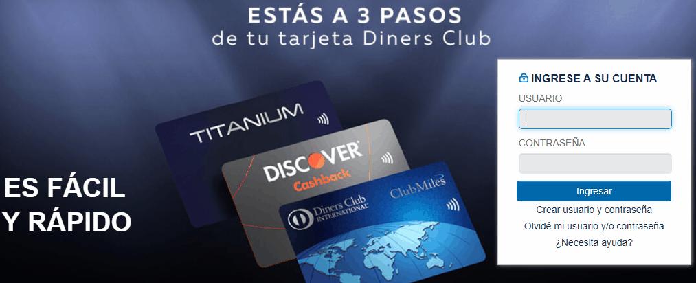 Consultar extracto bancario Diners Club nunca fue tan sencillo