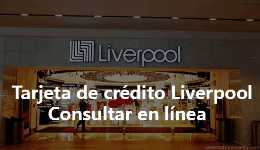 Consultar tarjeta Liverpool