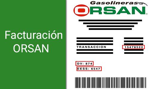 ¿Como hacer la facturación en ORSAN?